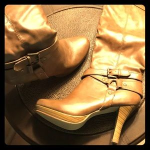 💖Yummy Caramel Knee-High Boots 💖